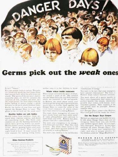 germ, advertisement, ad