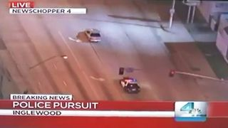 Police Chase Surprise