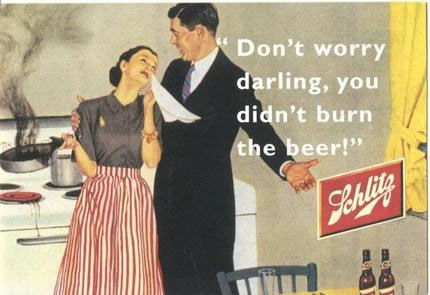 Shlitz beer, advertisement