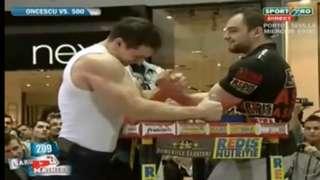Pro Arm Wrestler Vs Pro Bodybuilder