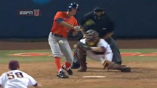 Ball Player Takes Painful Slider To Nuts