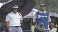 Boob Grab During PGA Tournament