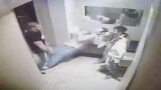 Bouncer Beats Up Dudes For Smoking