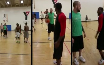 Basketball Bully Throw A Sucker Punch Against Wrong Dude