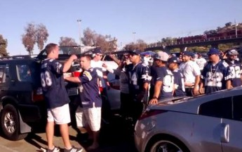Fight Breaks Out After Cowboys Game
