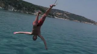 Bad Luck Jumping Off Boat
