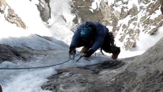 Lucky Ice Climber