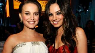Mila Kunis Makes Out With Natalie Portman