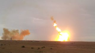Russian Rocket Crashes Shortly After Takeoff