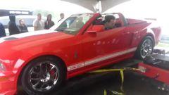 Shelby GT500 Destroys Dynamometer