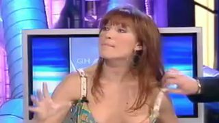 Silvia Fominaya Nipple Slip During TV Show