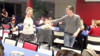Dancing Wardrobe Malfunction